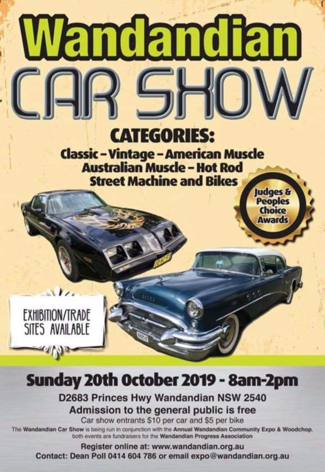 Wandandian Car Show Event